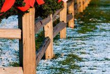 Outside Christmas ideas