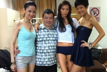 TK with celebs and babes / by Tan Khiang