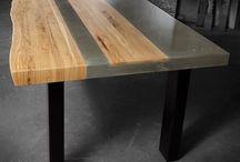 Concrete furniture