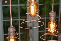 Up cycled lights