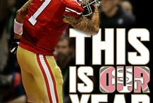 I bleed red and gold!!! / 49ers!!!
