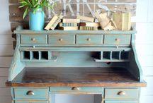 painted desks
