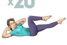 esercizi salva schiena