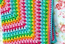 Crochet blanket / by Jannie van Huizen