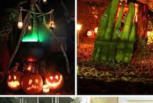 Halloween / All things Halloween- Costumes, Decorations, Decor, pumpkins, scary, spooky, and cute kids Halloween trick or treating stuff