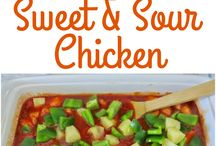 Chicken (Sweet and Sour)