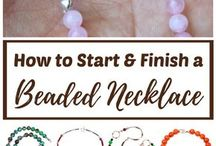 how to finish the necklace