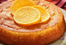 Desserts orange