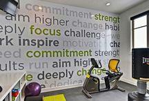 Petite salle de gym