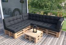 Palettenmöbel/ Holz