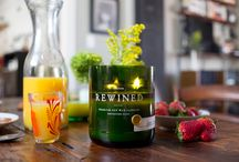 Rewined Candles / Rewined Candles:  Wine Scented Pure Soya Candles: Charleston, SC, USA Available at Santina's both stores: Penshurst and Leichhardt, Sydney, Australia - www.santinas.com.au