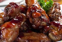 Baked Raspberry Chicken Wings Recipe