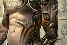 Bionic tatoos