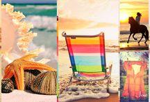 Summer in Peach/Coral/Orange