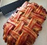 Bacon wrap meatloaf