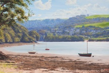British Landscape Paintings / A selection of British landscape and seascape paintings by Andrew Cooper.