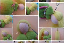 Felt Angels, Fairies, Gnomes and more...