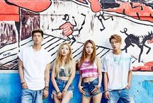 K♠RD (카드) / Kard is a South Korean mixed group formed by DSP Media in 2016. The group is composed of four members: J. Seph, B.M, Somin and Jiwoo.