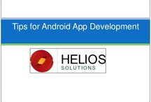 Outsourcing Android Application / Helios Solution offers mobile application development for Iphone, Ipad, Android and Microsoft Mobile. We provide customized applications tailored to your specific requirements and facilitate quick and easy data processing.