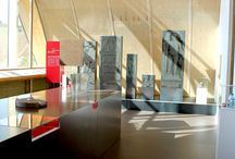 LA VILLA / Réalisation de caisson en verre et de porte vitré avec accessoirs pour le centre d'interpretation du patrimoine archéologique de Dehlingen, La villa.