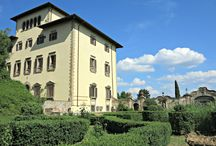 Giardini delle ville fiesolane / Fiesole ha storiche ville sul suo territorio. In primavera i musei organizzano le visite ai giardini restaurati delle antiche ville.