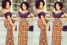 African print Ghana style