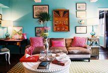Salas / Ideias, dicas, truques, organização, decoração e soluções práticas para salas ou living.
