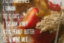 Smoothies - breakfast and snacks