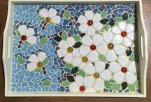 trabajos de. mosaiquismo y pinturas