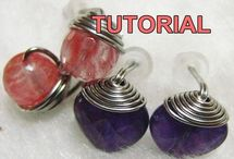 Wire Jewelry Tutorials by WireBliss / Step by step Wire Jewelry Tutorials available at my Etsy shop (Instant download) - http://www.wirebliss.etsy.com  Description are given for each step accompanied by clear close up color pictures.
