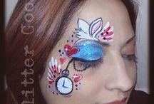 Mad Hatter's Tea Party face painting
