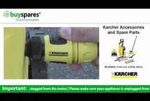 Pressure Washer DIY Repairs / Save money by repairing and maintaining your pressure washer with our 'how to videos' from Buyspares.co.uk. / by BuySpares