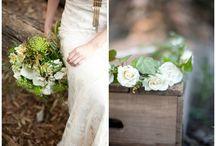 Wedding flowers - woodland