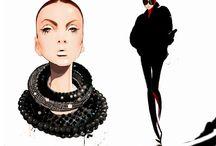 Fashion illustrations I like