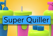Quill On- An innovative play system / Check out the innovative range of playtools specially designed to make quilling a lot more fun and easy!