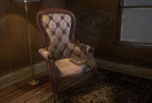 концепт арт мебель
