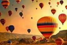 volar sin prisa y sin miedo. .