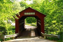 {covered bridges} / by Deborah Ondrejko