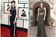 Grammys 2016. The night's most statement-making dresses + Get the look by Vero Milano / Sequins! Bold! Sparkles! The 2016 Grammys brought the music industry's hottest stars to L.A. on Monday evening and did not disappoint in the fashion department, with its sizzling and memorable looks. Every year, the style on the red carpet never fails to excite at the Grammy Awards. That's because nothing's off limits— from bold and super sexy to the most revealing dresses. We've seen stars like Taylor Swift or Ciara taking risks you won't see anywhere else.