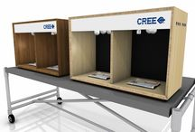 Cree / Cree - light bulb comparison boxes  / by kimmodesign