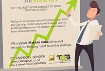 Unsecured Business Loan / #Loans for #STARTUPS, #MSME Loans , #NBFC