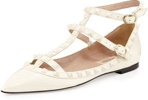 {rockstud flats & sandals for less} / Cheaper versions of Valentino Rockstud shoes