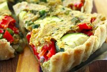 Quiche and Frittatas / Quiches and frittatas. / by Lindsey Smith Mahan
