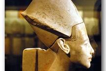 egyptian_sculpture_various