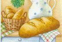 Ekmeklik dekupaj desenleri