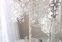 White and Crystal Weddings