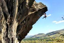 Climbing destinations