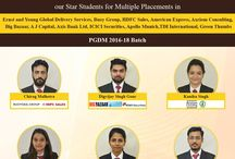 Multiple Placement Offers of PGDM Batch 2016-18