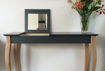 Small Dressing tables / Dressing table is a dream, not everyone has a place for it. This small dressing tables are so beauifull!