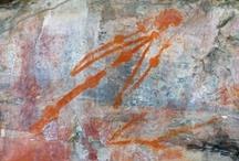 rots- en grottekeningen + tribal art